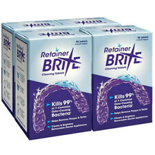 Retainer Brite 4 pack - 1 Year Supply ( 384 Tablets ) | Free 2-Day Shipping