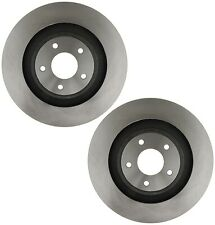 """Pair Set 2 Front Coated Disc Brake Rotors 13.38"""" Dia ACDelco For Chrysler Dodge"""