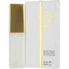 Alyssa Ashley White Musk by Alyssa Ashley EDT Spray .85 oz