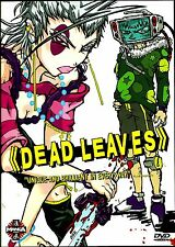 Dead Leaves. Action-Packed Gross Out Anime Spectactular. New In Shrink!