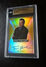 2019 LEAF METAL POP CENTURY TOM ARNOLD AUTOGRAPH #1/1 PRE-PRODUCTION GOLD PROOF