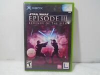 Star Wars: Episode 3 III: Revenge of the Sith (Microsoft Xbox, 2005)
