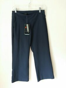 Vintage Nike Low Rise Cropped Navy Blue Athletic Capri Brand New Sz S 4/6