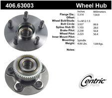 Wheel Bearing and Hub Assembly-Premium Hub Assemby Rear fits 01-02 PT Cruiser