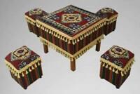 Orientalische Sitzecke, Sark Kösesi, Osmanische Tisch mit Hocker, Osmanli 🌟✅