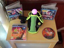 Sony Playstation 3 Just Dance 3 et 4 Move zumba Jeu & Ceinture Contrôleur PS3