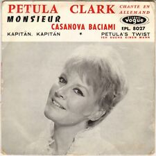"PETULA CLARK ""MONSIEUR"" EN ALLEMAND 60'S EP VOGUE 8027"