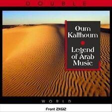 Oum Kalthoum:  Legend of Arab Music (CD, Apr-2007, 2 Discs, Deja Vu)