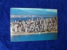 VANCOUVER SKYLINE POSTCARD PRE STAMPED ENGLISH BAY HARBOUR BC CANADA POST OFFICE