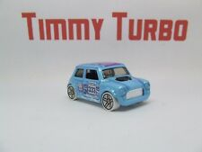 D MORRIS AUSTIN MINI IN LIGHT BLUE HW SNOW STORMERS HOT WHEELS MINT 55 MM LONG