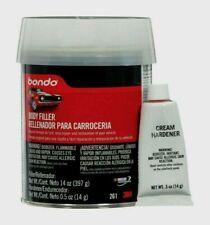 Bondo Auto Body Filler 14 oz. Hardener Metal Wood Masonry Fiberglass Marine 261