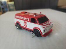 Vintage Tyco Command Control Maintenence Van #3 Slotless Slot Car