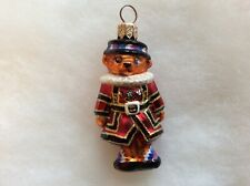 Radko: Beefeater Bear Gem, #99-962-0 with original tag and box.