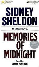 Memories of Midnight by Sidney Sheldon (1993, Cassette, Abridged)