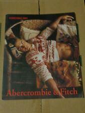 Abercrombie & Fitch Christmas 2001 Catalog