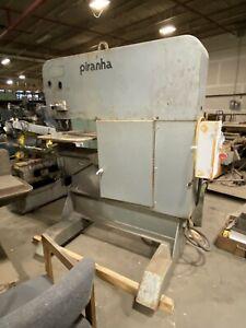 Piranha SEP120 Single End Punch 120 ton Ironworker Hydraulic Pump & Lot Of Dies