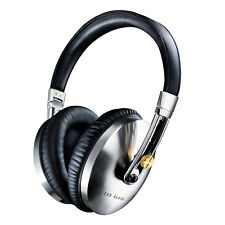 TED BAKER ROCKALL HIGH PERFORMANCE FOLDING OVER-EAR HEADPHONES - BLACK/SILVER