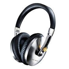 NEW TED BAKER ROCKALL HIGH PERFORMANCE FOLDING OVER-EAR HEADPHONES-BLACK SILVER