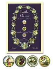 More details for little gems enamelled coins and tokens from 1800s-1920s,chick, coin book rare
