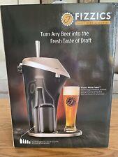 New Fizzics Draft Beer Dispenser Fresh Draft Taste Enhances Texture/Aroma Sealed