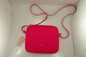 NWT Michael Kors 32F2GELC3P neoprene Hot Pink Tablet Ipad Case Crossbody GIFT!!!