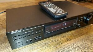 Kenwood KC-209 Stereo Control Amplifier  Remote Control Excellent Condition