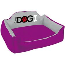 Waterproof Dog Bed Pet Puppy Cat Basket Machine Washable Soft Cushion Large