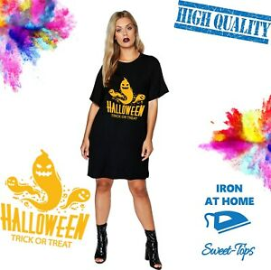 HALLOWEEN TRICK OR TREAT IRON ON T SHIRT TRANSFER | EASY TO APPLY | SOFT FEEL