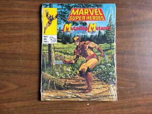 Marvel Super Heroes MLBA1 Mutating Mutants TSR 1990 Shrinkwrapped