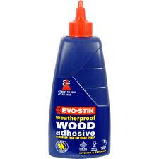 NEW Evo-Stik Exterior Resin W Wood Adhesive 500ml Each