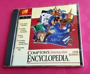 Compton's Interactive Encyclopedia 1998 Edition