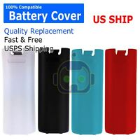 Nintendo Wii Battery Cover Back Door Cover Lip For Controller Wii U Remote
