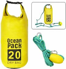 6M SandSak 2-in-1 Sand Anchor Rope Float With Dry Bag For PWC Kayaks Small Boats