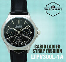 Casio Ladies' Standard Analog Watch LTPV300L-1A LTP-V300L-1A