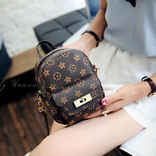 Women Girl Small Fashion Backpack Travel Handbag Rucksack Shoulder School Bags
