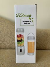 Personal Portable Blender with 480ml Travel Bottle, USB Rechargeable Single NEW