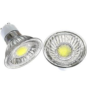 LED COB GU10 6W 5W 4W 3W 230V Lampe Licht Decke Spot Strahler Kaltweiß Warmweiß