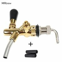 Draft Beer tap faucet  Adjustable Faucet with golden plating Keg Tap  Homebrew