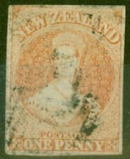 F (Fine) Used Single New Zealand Stamps