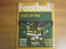 March 1973, FOOTBALL, Hugh Curran, Bob Latchford, Mick Mills, David Stringer.