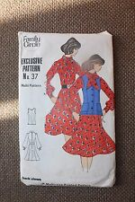 Family Circle Sewing Pattern Misses Dress Size 10-12-14-16