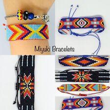 Friendship Bracelet, Handmade , Japanese Miyuki Bead Bohemian Festival Style
