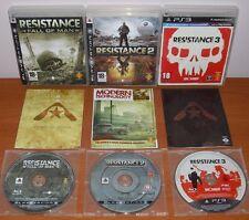 Resistance Trilogy Trilogía (Fall of Man,2,3) PlayStation PS3, Versión Española