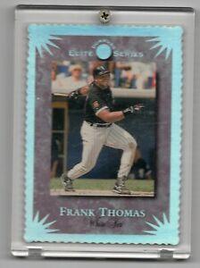 1994 DONRUSS ELITE SERIES DIE CUT FRANK THOMAS WHITE SOX INSERT CARD SP /10000