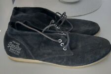 Men's Grey Suede Superdry Boots Shoes Size 9