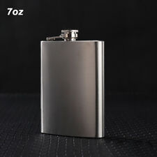 Hip Flask 7oz Portable Stainless Steel Wine Whiskey Liquor Alcohol Bottle Gift