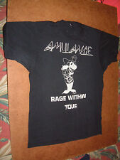 AMULANCE Rage Within Tour 1989 Vintage Metal Band T-Shirt L? Shark Attack