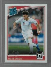 2018-19 Panini Donruss Optic Soccer Rated Rookie RC # 189 Jadon SANCHO England