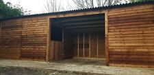 24 x 10 Mobile pony/field shelter/stable with store room. Can deliver and fit.