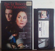 VHS FILM ITA Thriller FRA LE BRACCIA DELL'ASSASSINO ex nolo no dvd(VHS22)